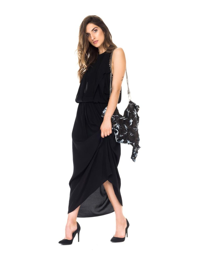 8PM-DRESS-MAMMOLA-BLACK-VISCOSE-FRONT