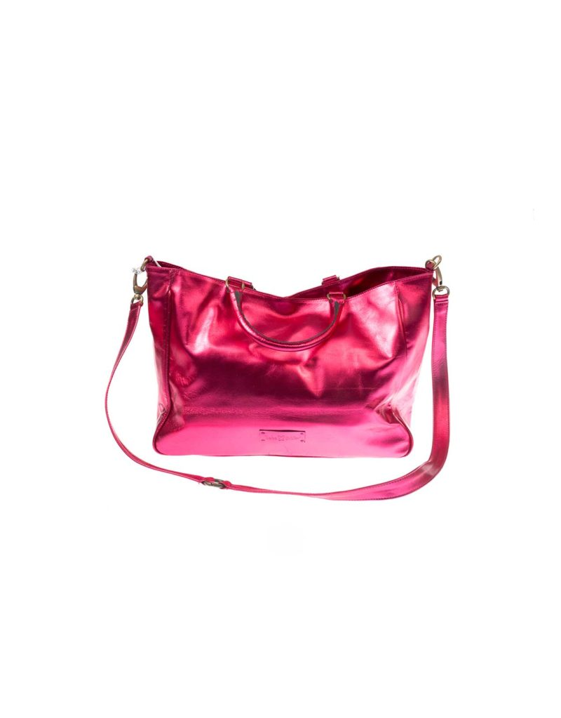 BABA CRIFER PINK LEATHER BAG