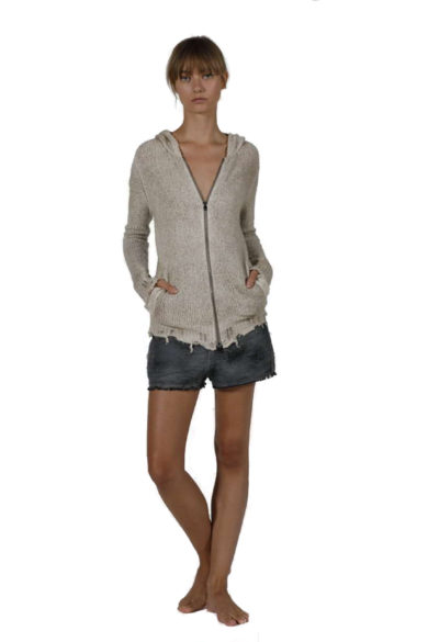 WOMAN KNITTED HOODIE 3